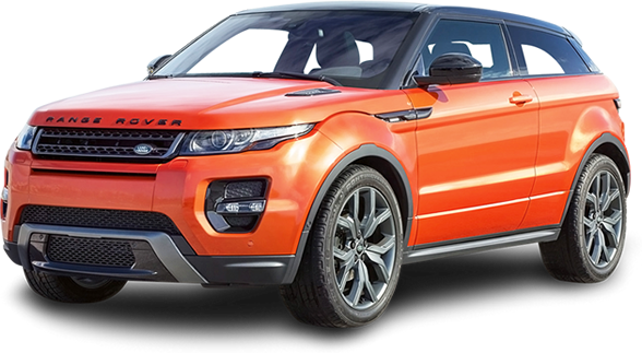 Orange Range Rover car