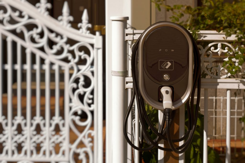 Electric car charger for home.