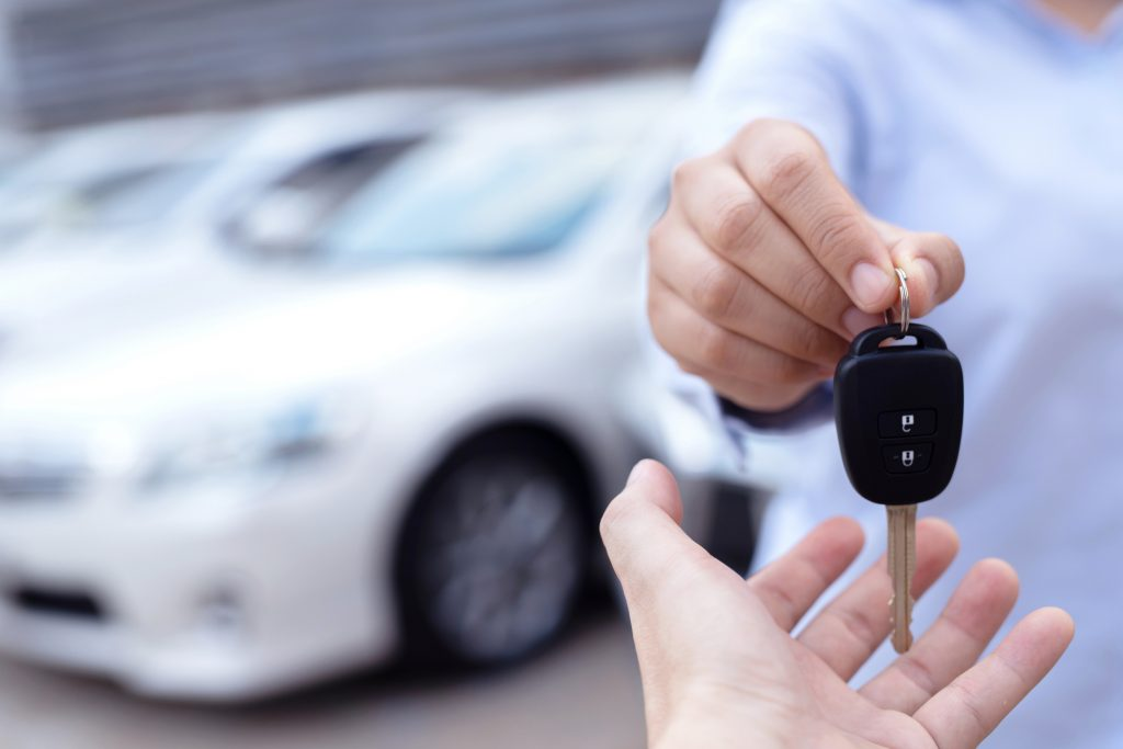 Handing the keys back to a car