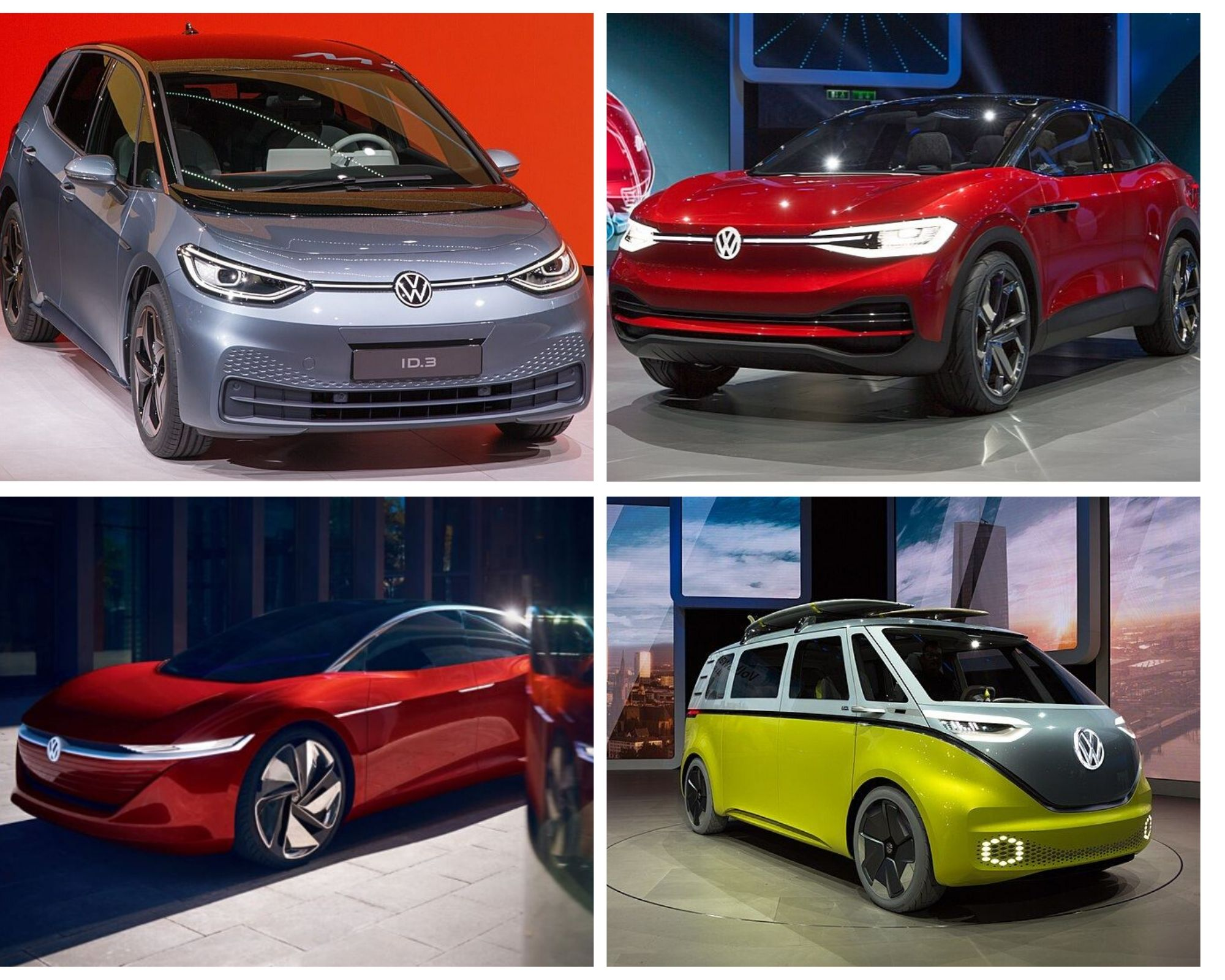VW ID. Concept family