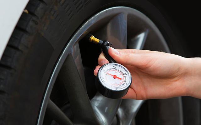 AA tyre pressure