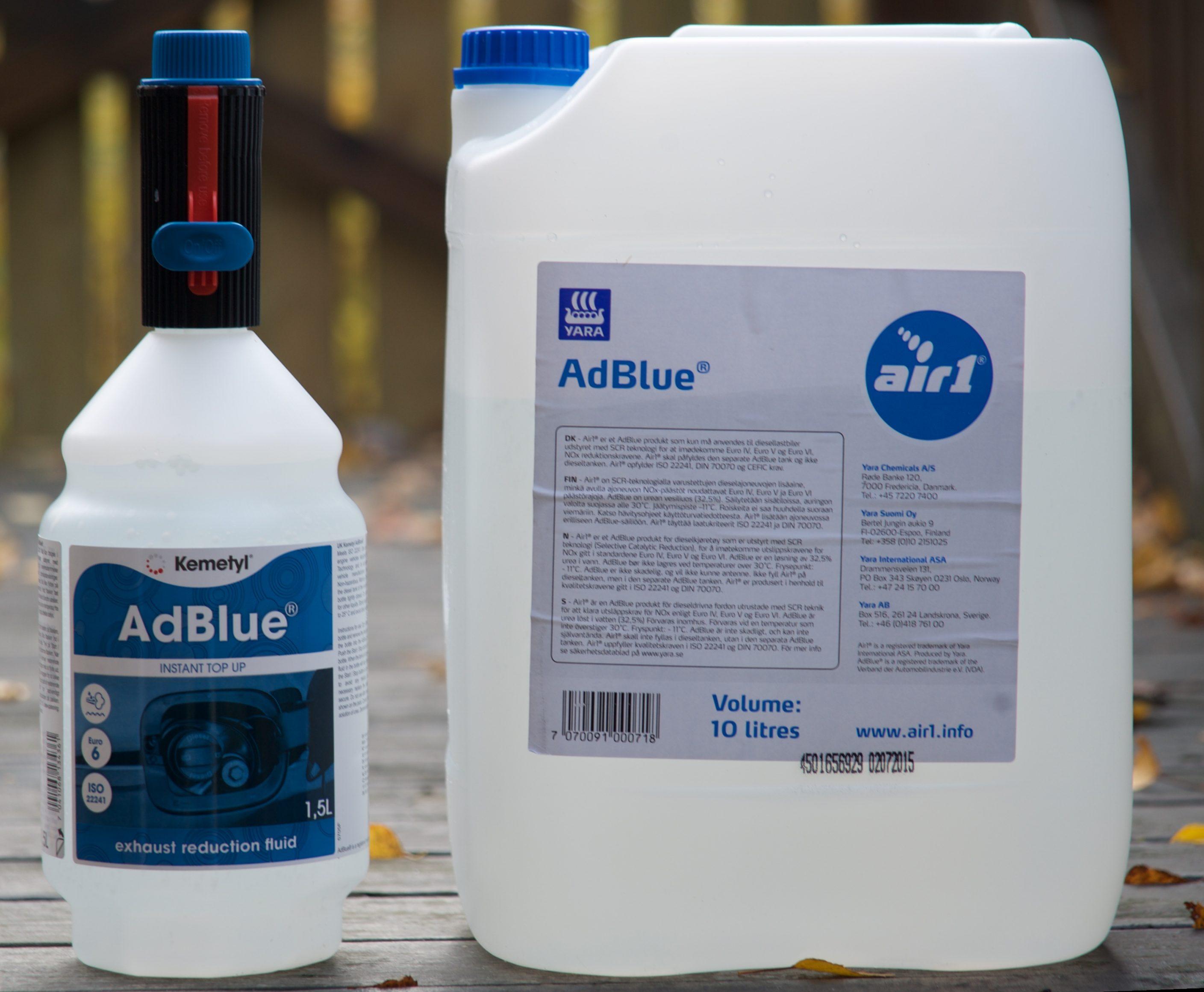 Adblue container