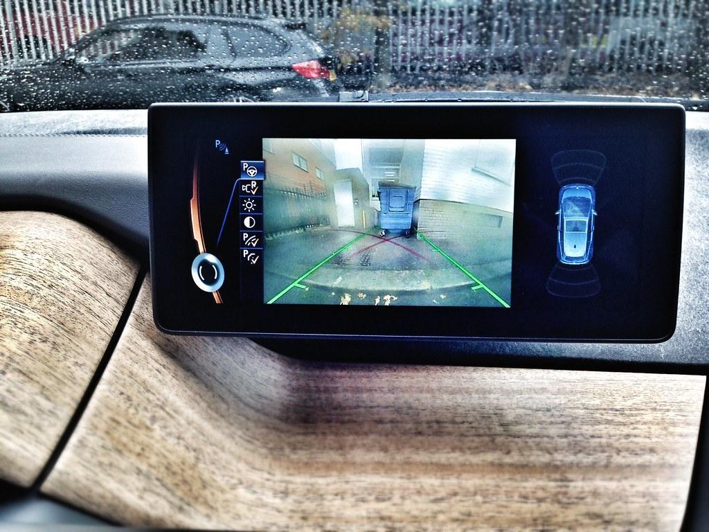 I3 reverse parking camera