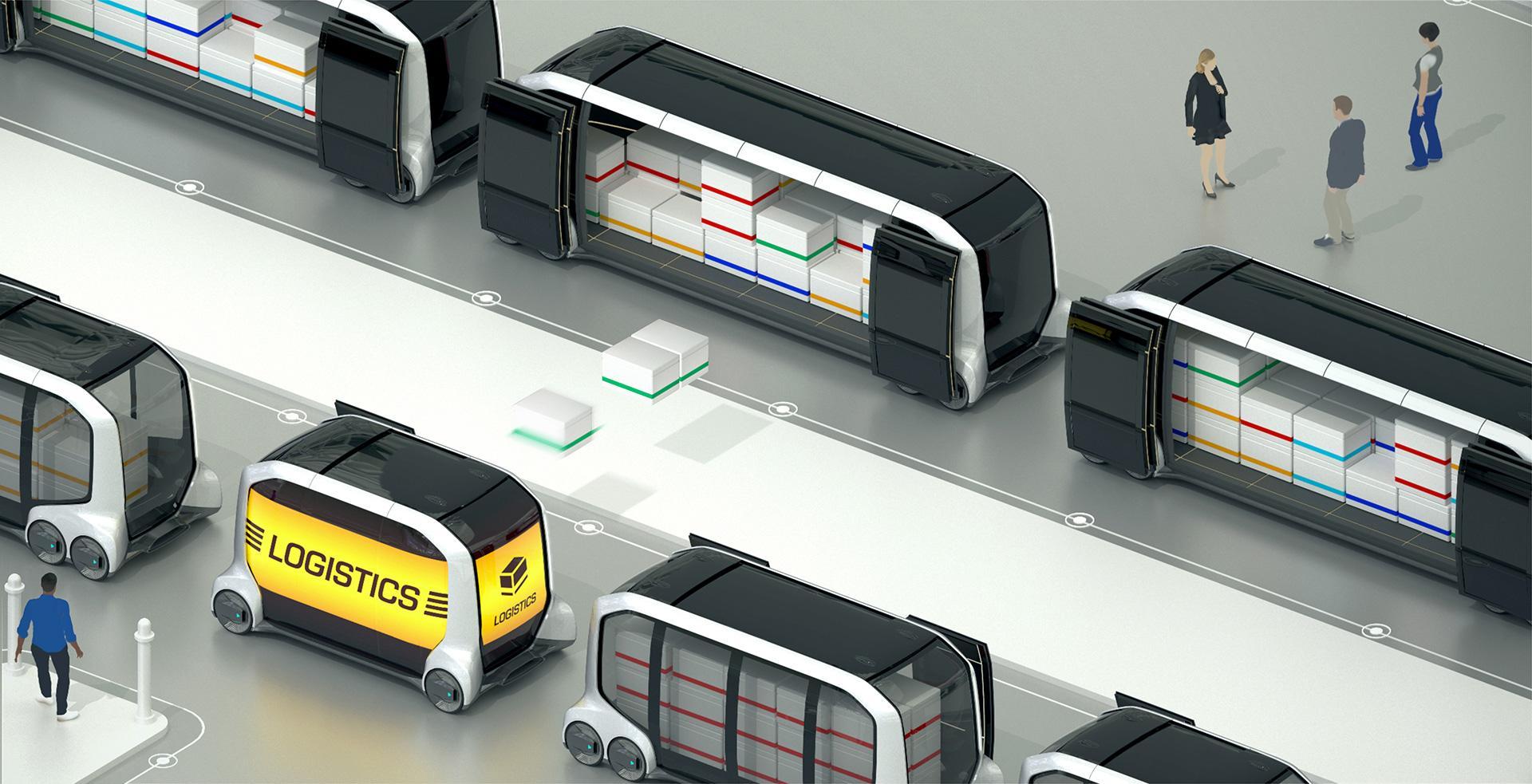 Toyota e-Palette logistics