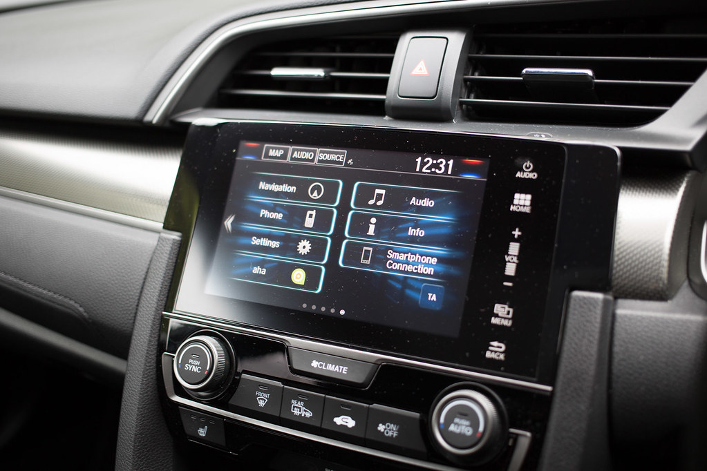 infotainment system calling