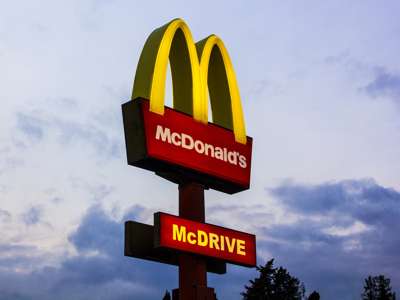 McDonald's EV chargers