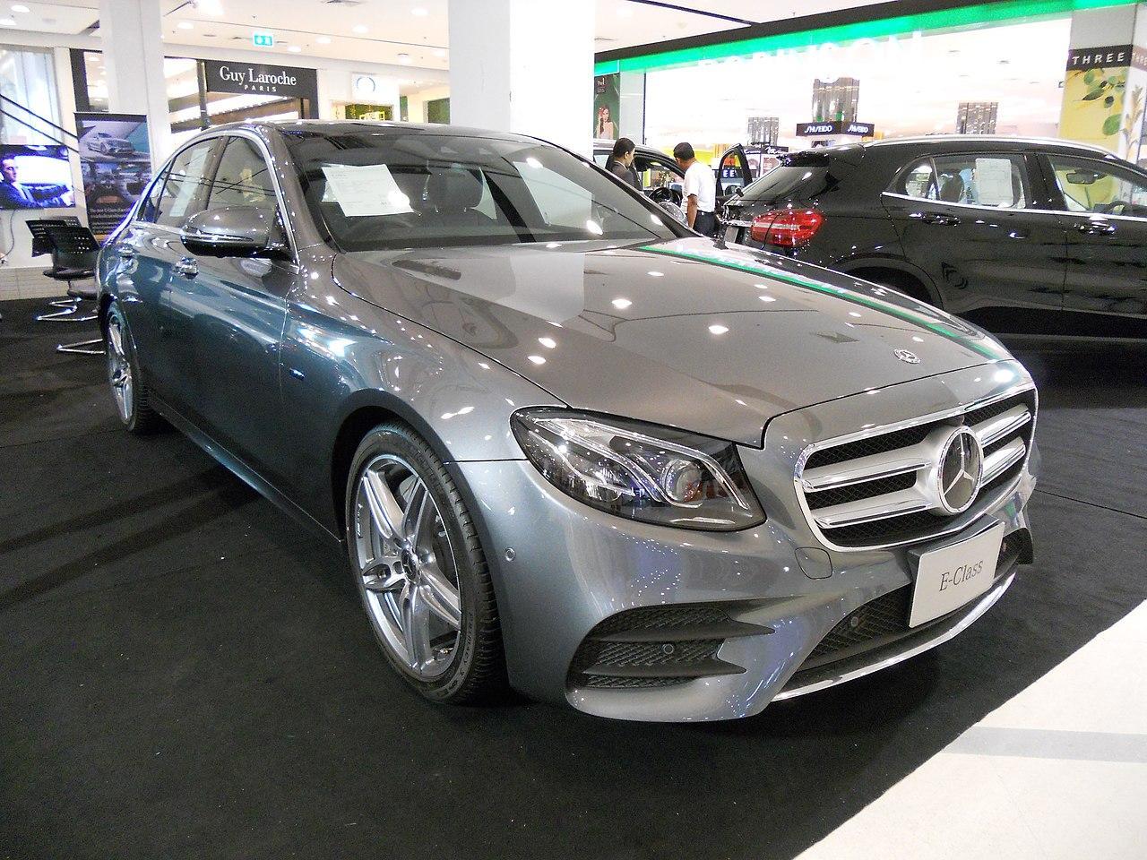 Mercedes E-Class AMG Line