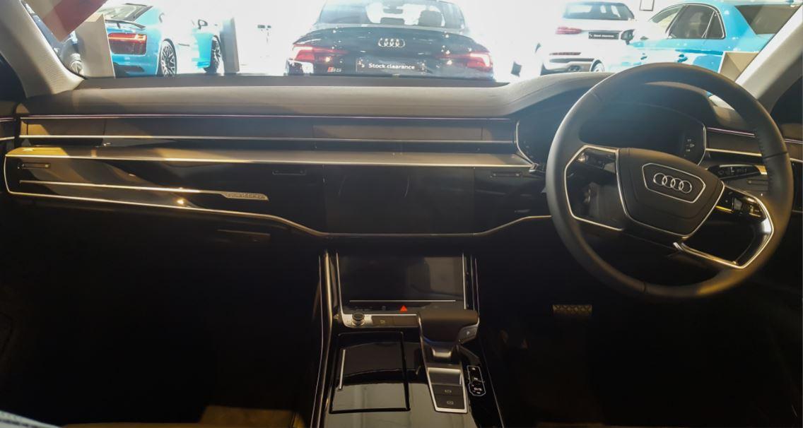 Audi A8 interior 1