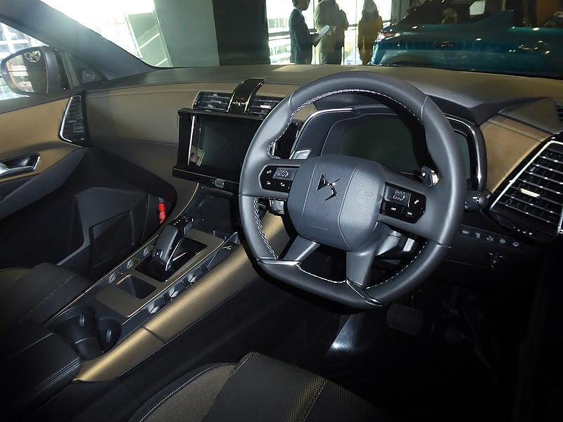 DS 7 interior