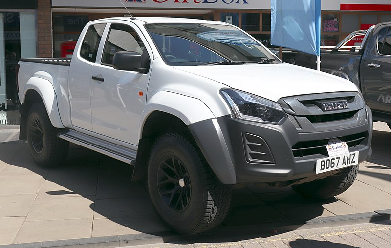 Best pickup trucks - Isuzu D Max