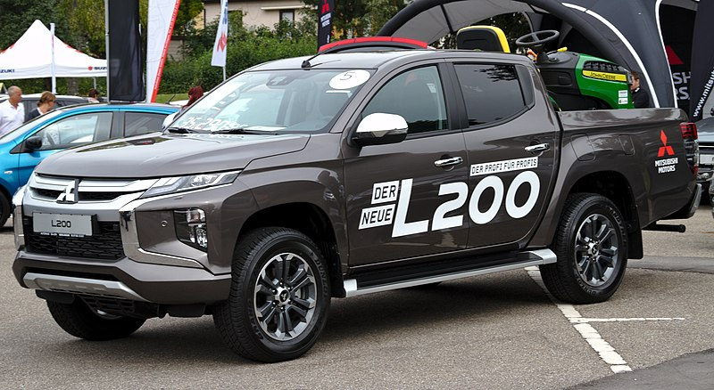 Best pickup trucks - Mitsubishi L200
