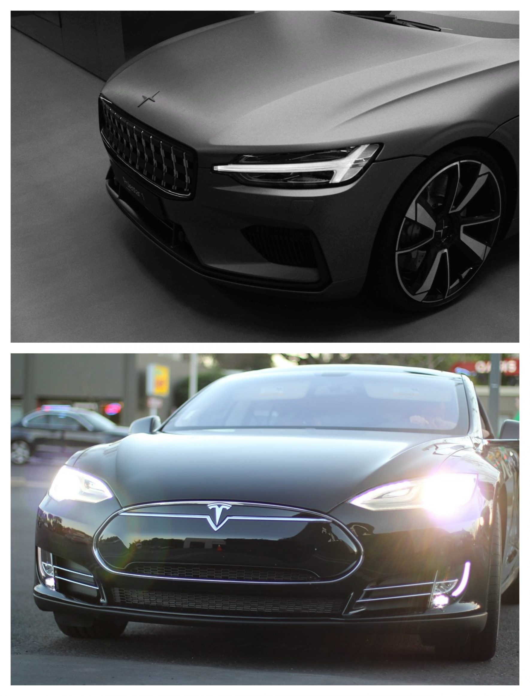 Polestar Vs Tesla 2