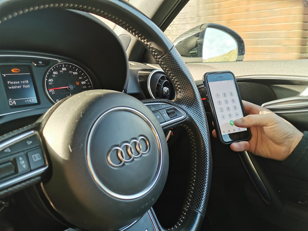 Common motoring offences texting while driving