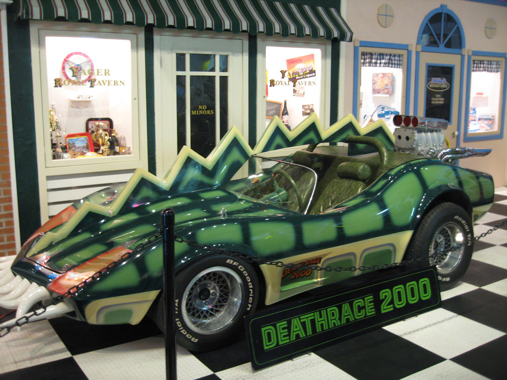 Killer Cars - Corvette, Death Race 2000