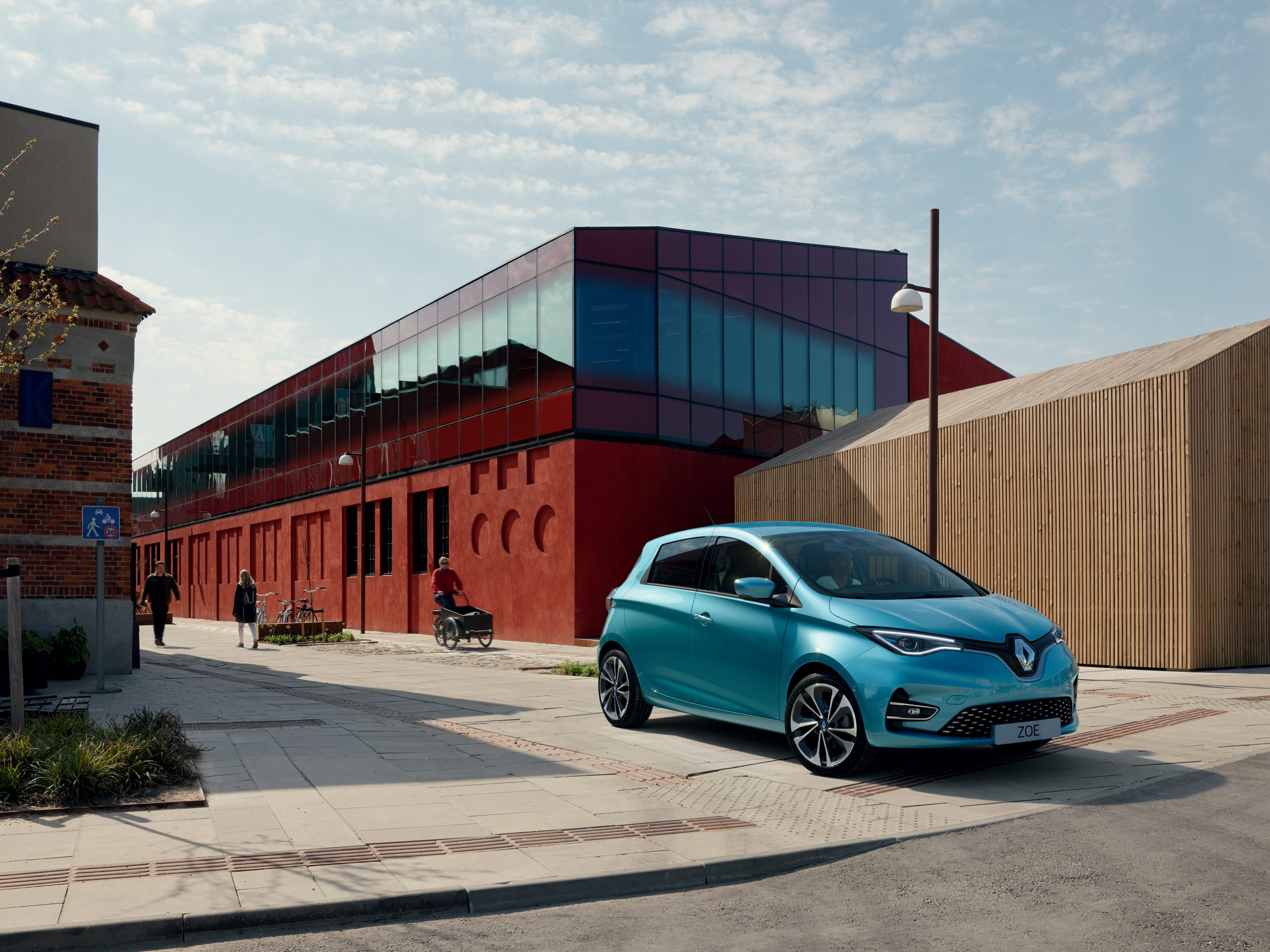 Cheap electric cars - RENAULT ZOE