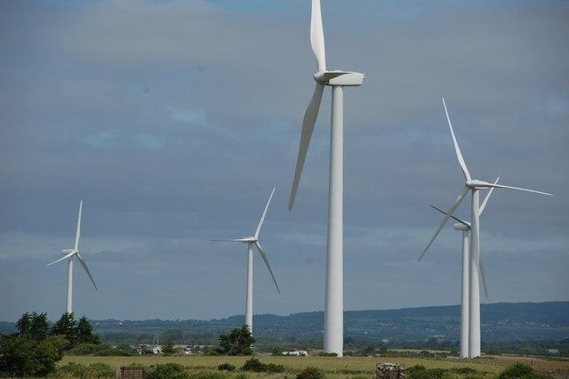 petrol and diesel ban - wind turbines