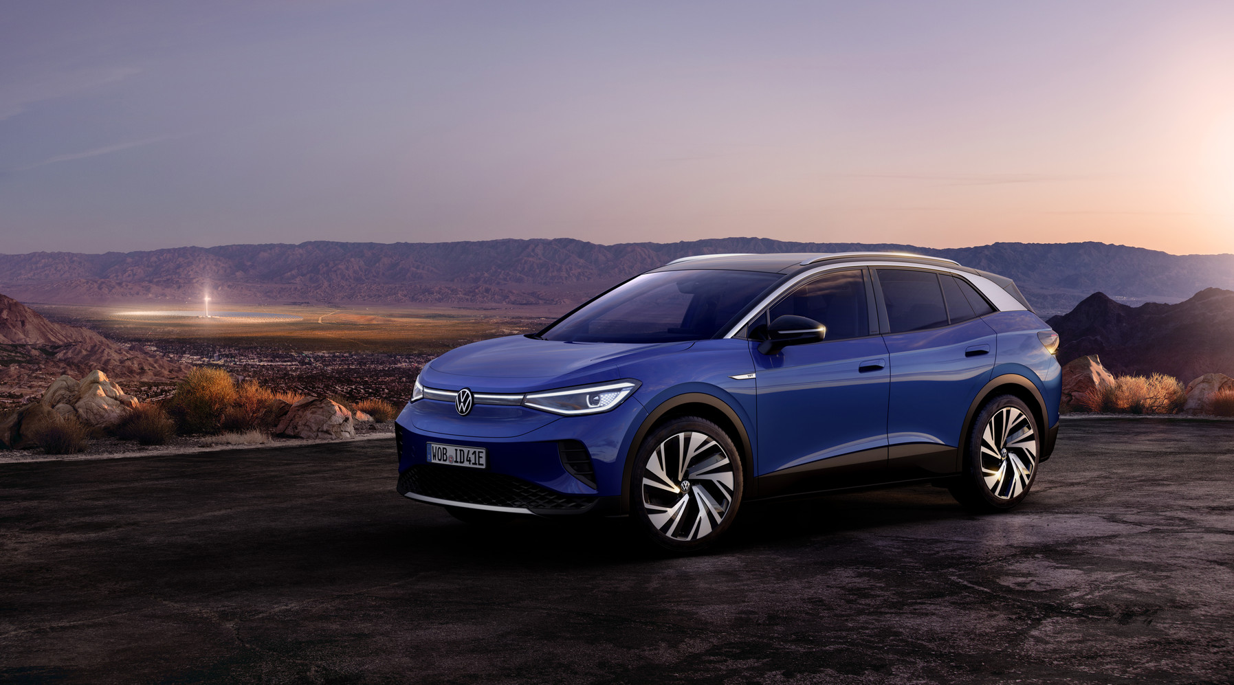 Volkswagen ID.4 fully electric SUV