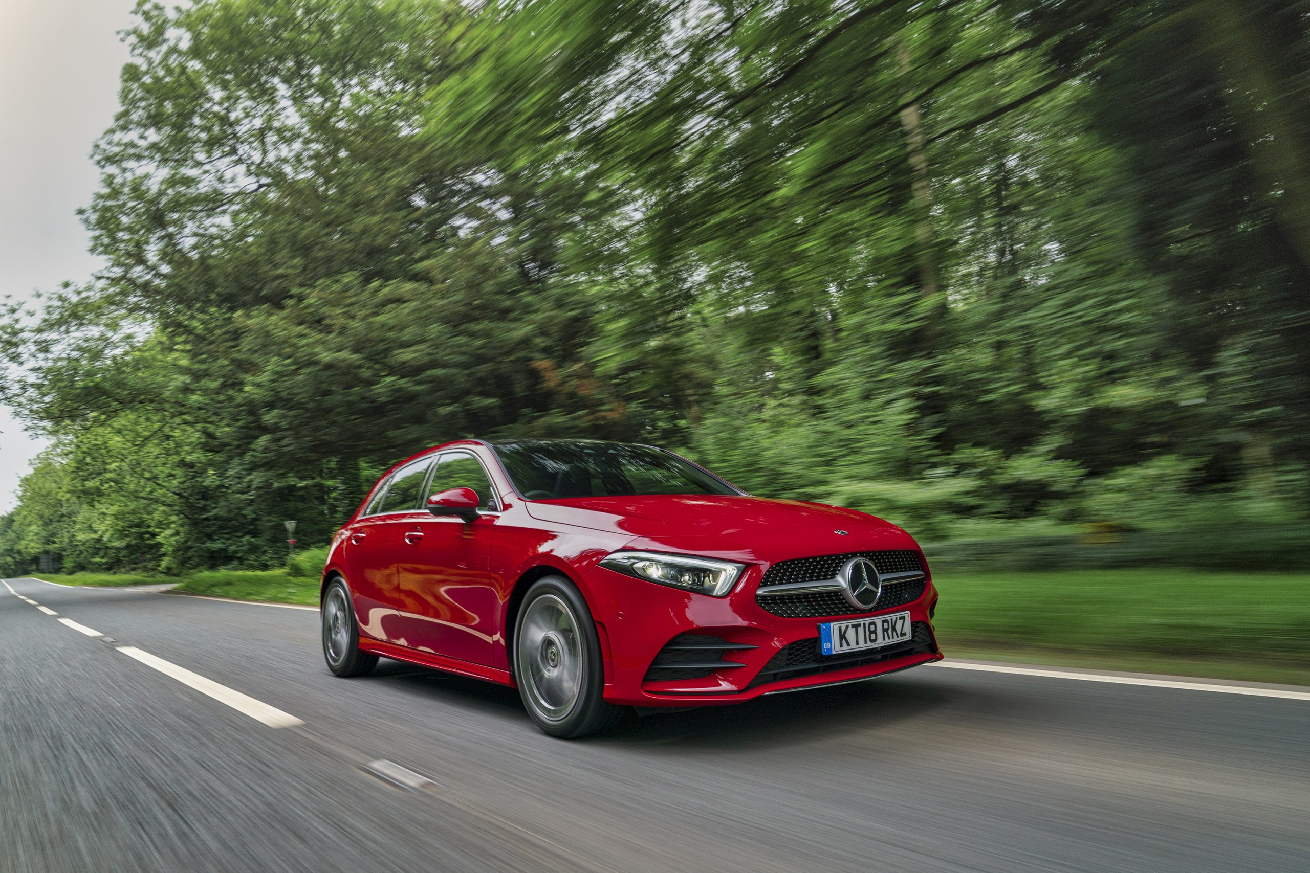 Best-selling cars in the UK - Merc A-Class