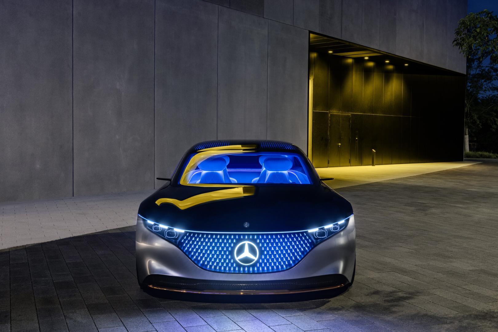 Mercedes-Benz VISION EQS 5
