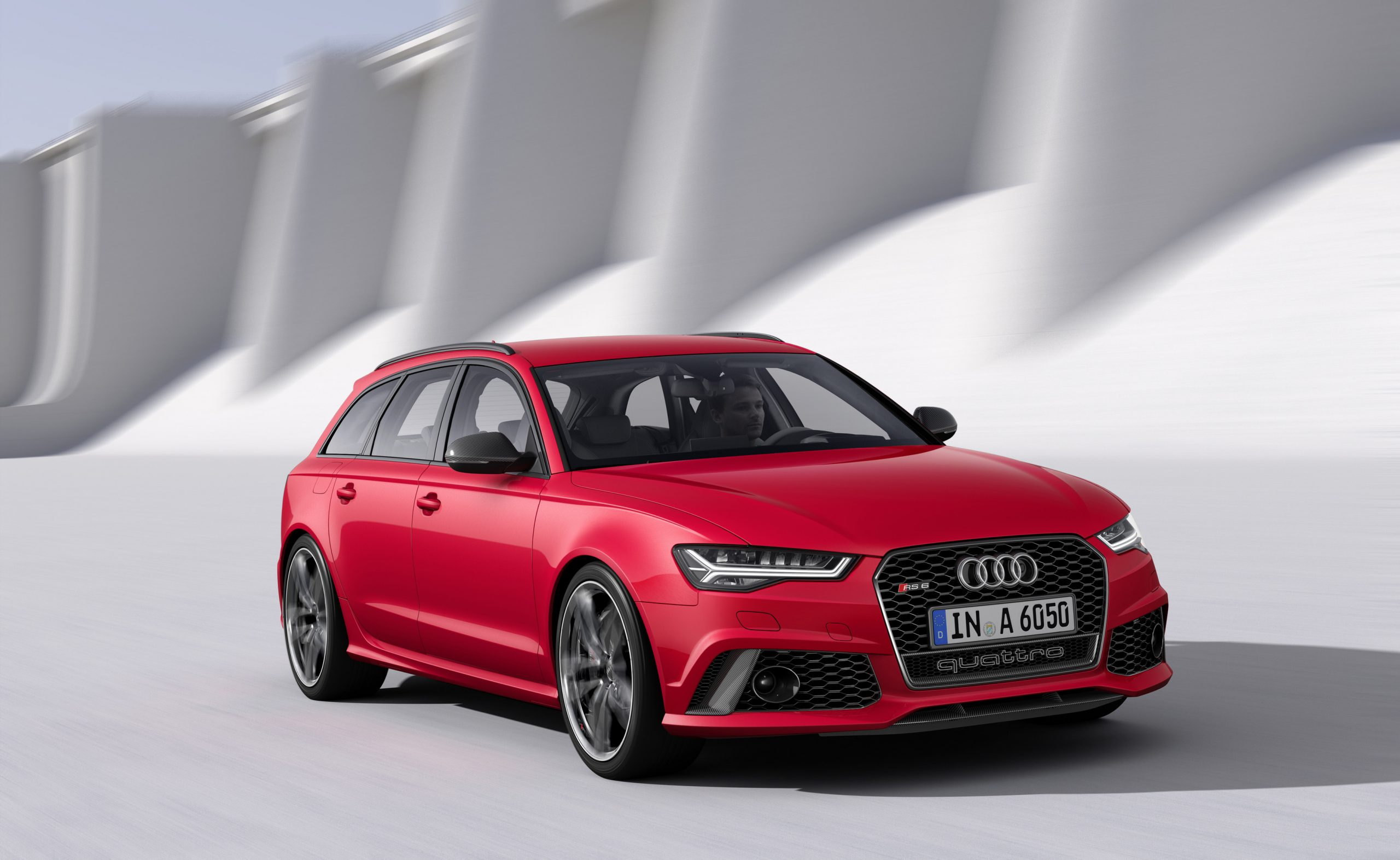 What car would Santa drive - Audi RS 6 Avant
