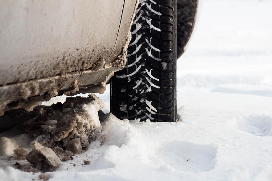 car winter maintenance tyres