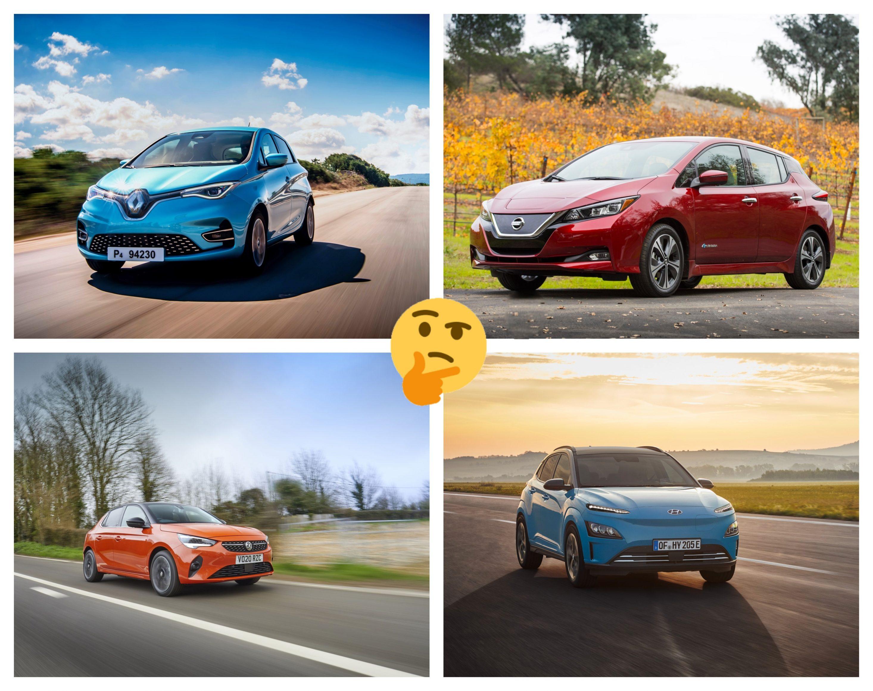 electric car lease comparison - choosing an EV
