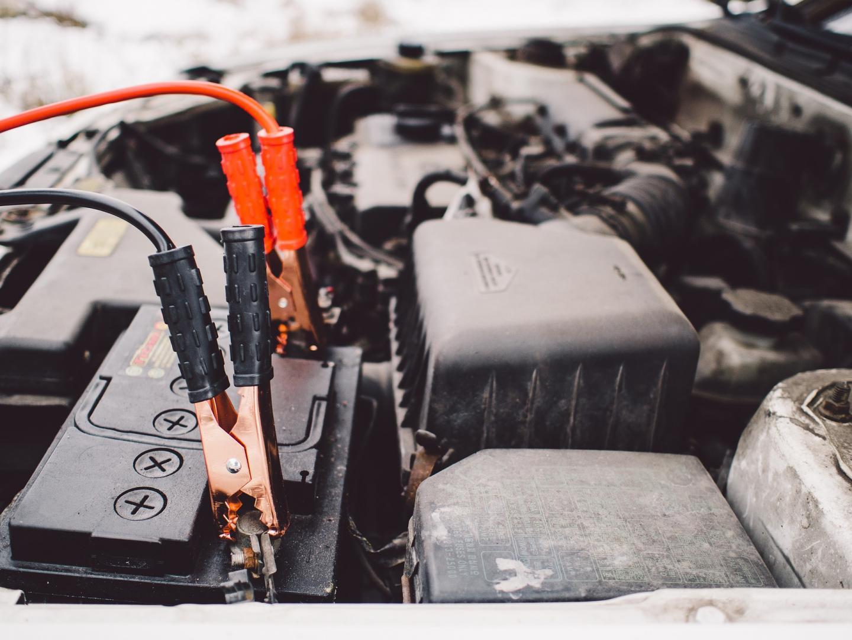 car winter maintenance - 12v battery charger