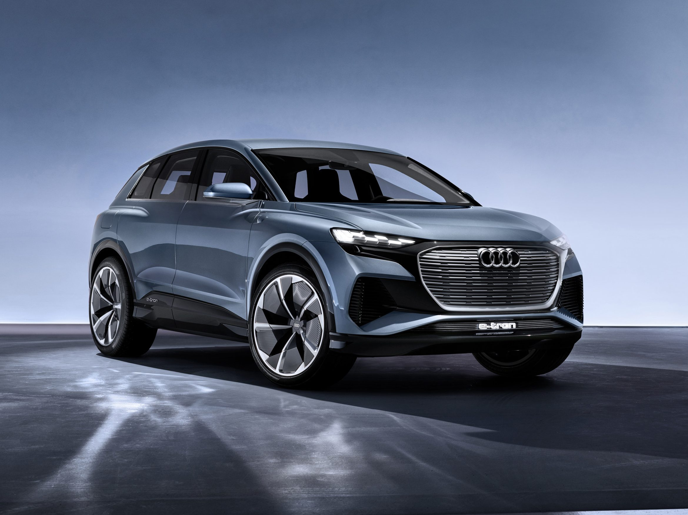 Audi Q4 e-tron all electric release 2021