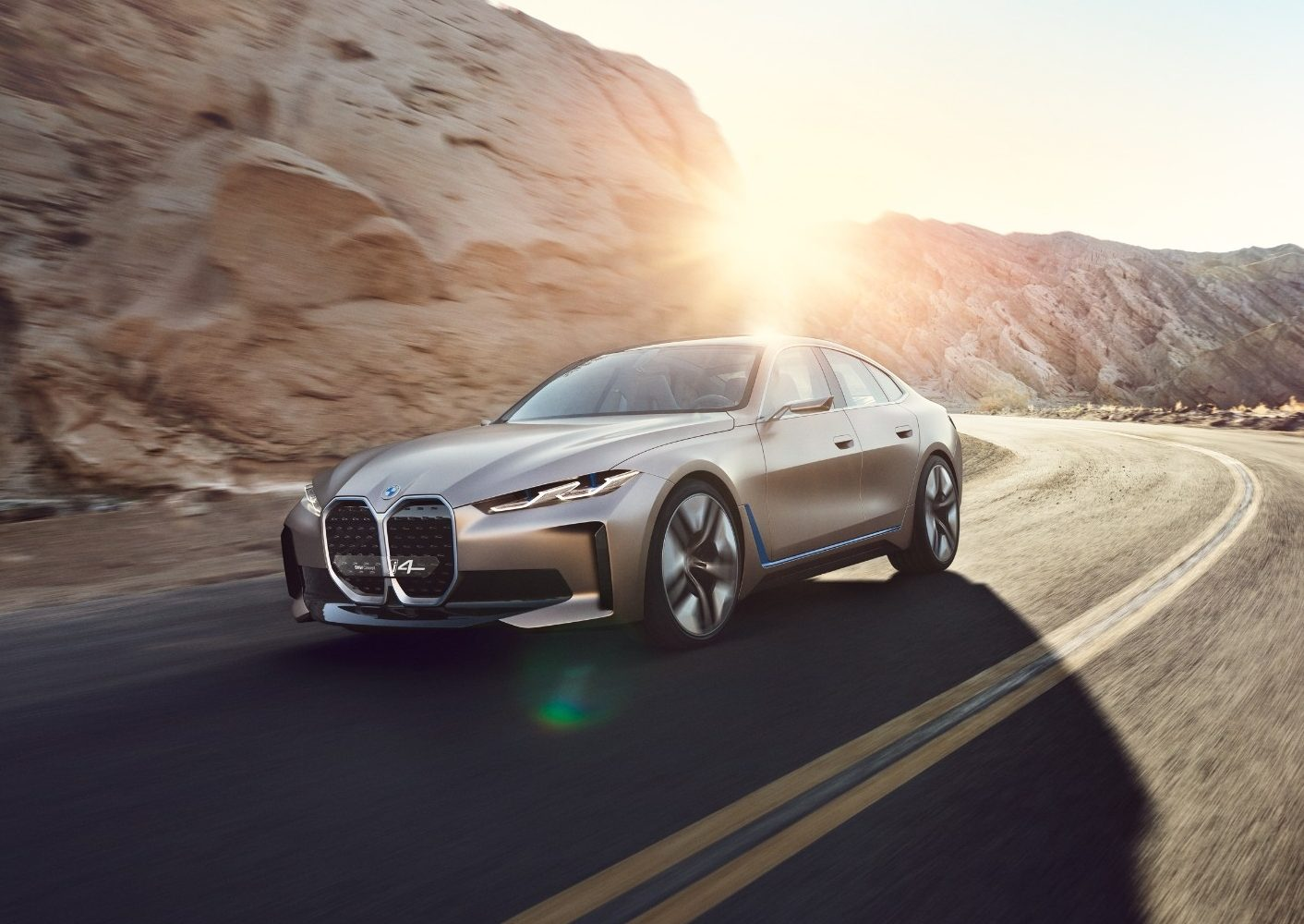 Best car 2021 BMW i4