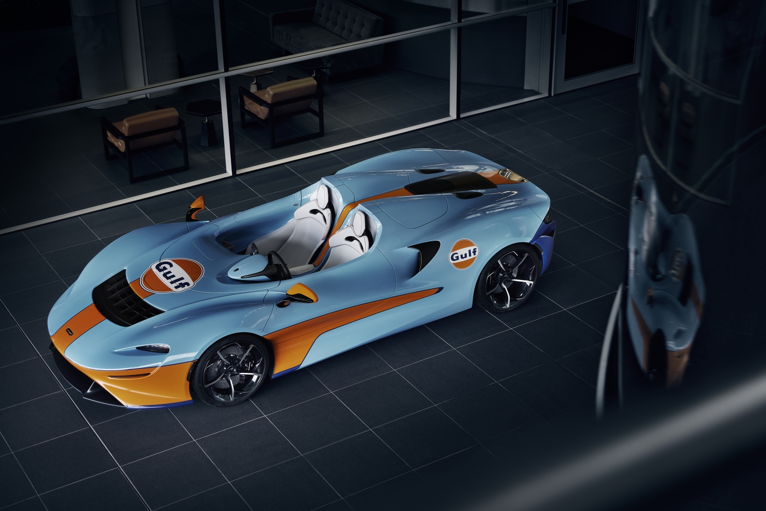 Mclaren Elva Gulf limited edition