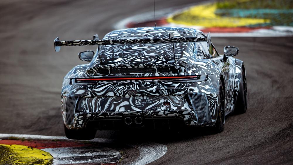 Classic Remake Porsche 911 GT3 Test