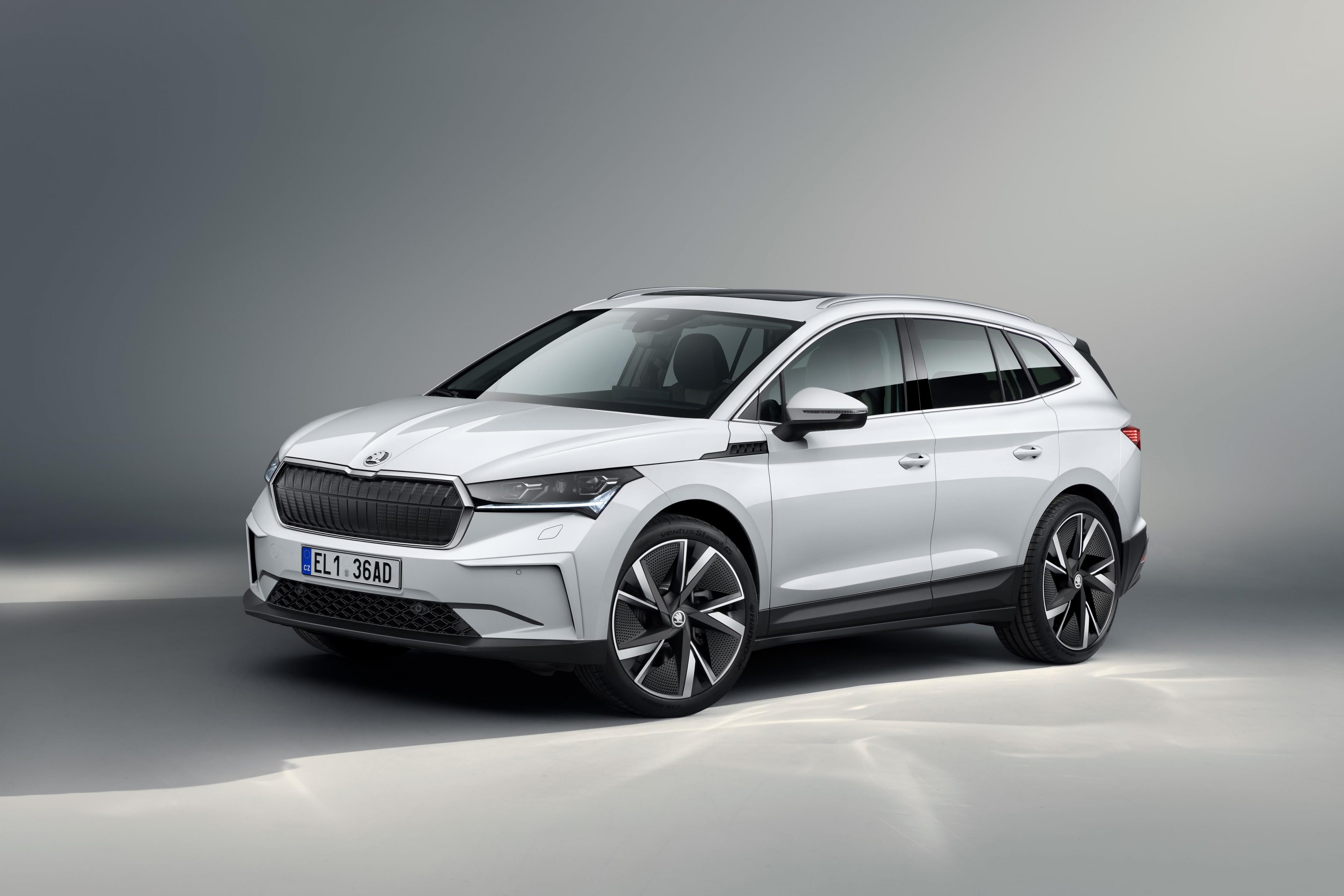The Skoda Enyaq iV is the brand's first standalone electric car