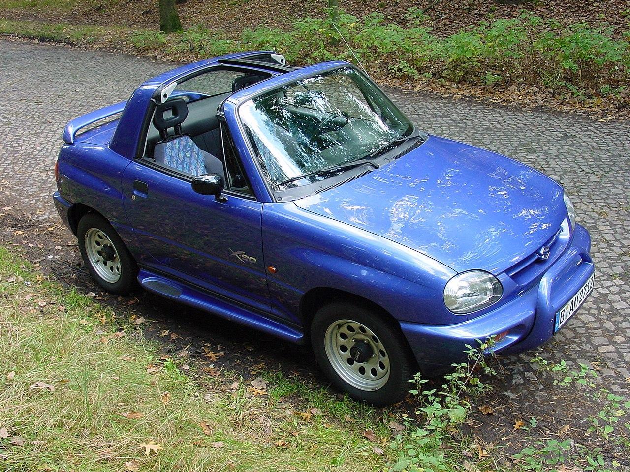 Suzuki X-90. Looks like a toy car.