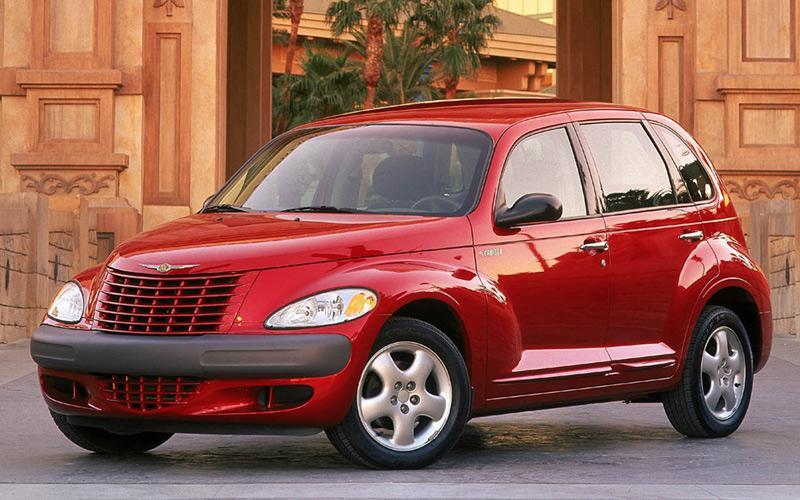 Red Chrysler PT Cruiser