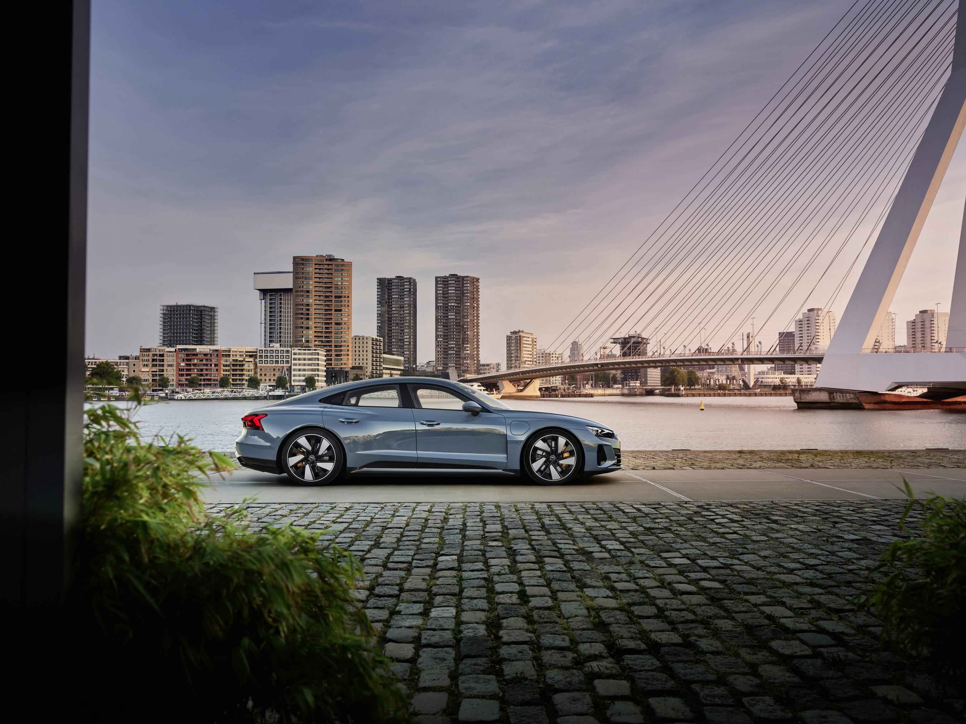 new Audi e0tron GT