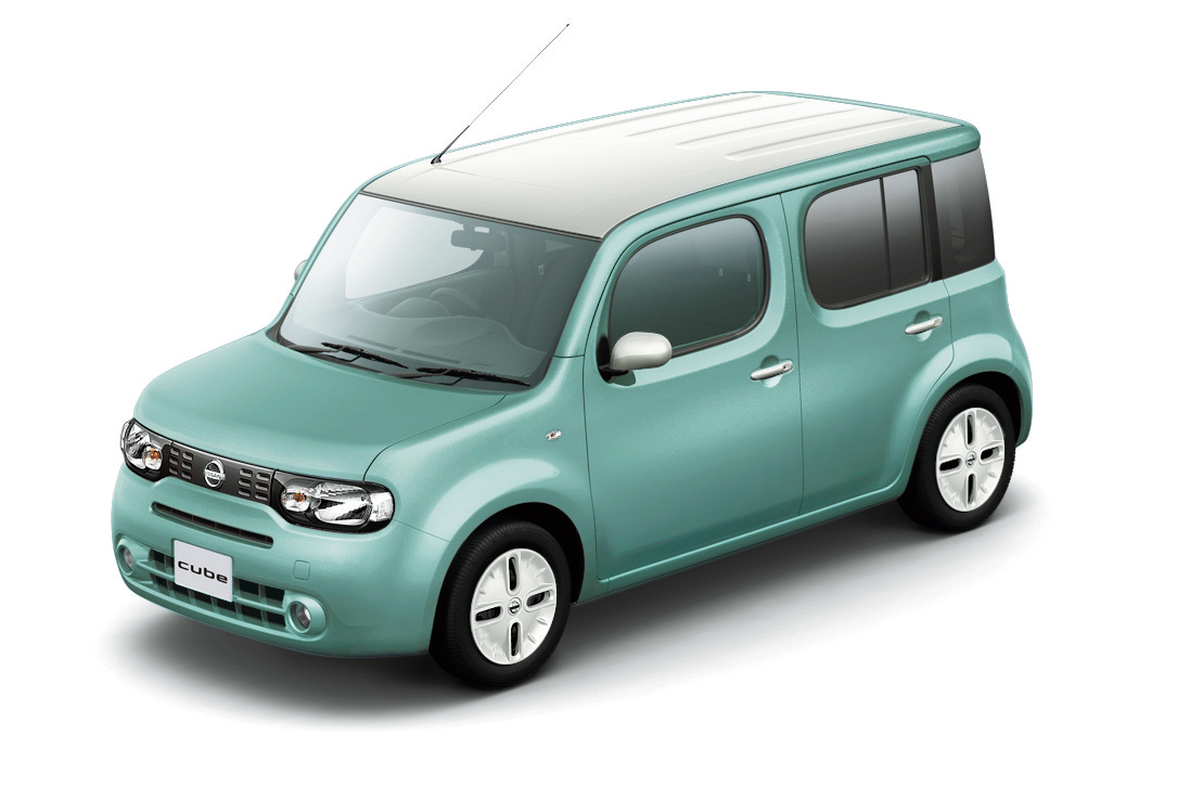 Nissan Cube. Literally a cube on wheels