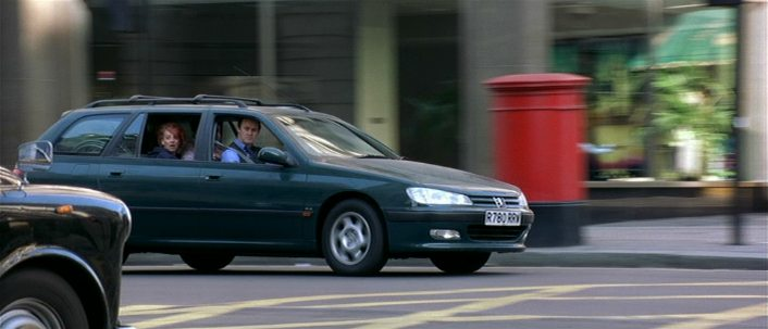 The Peugeot 406 from Notting Hill may not be the easiest on the eyes, but the protagonists wouldn't have got together if it wasn't for the car.