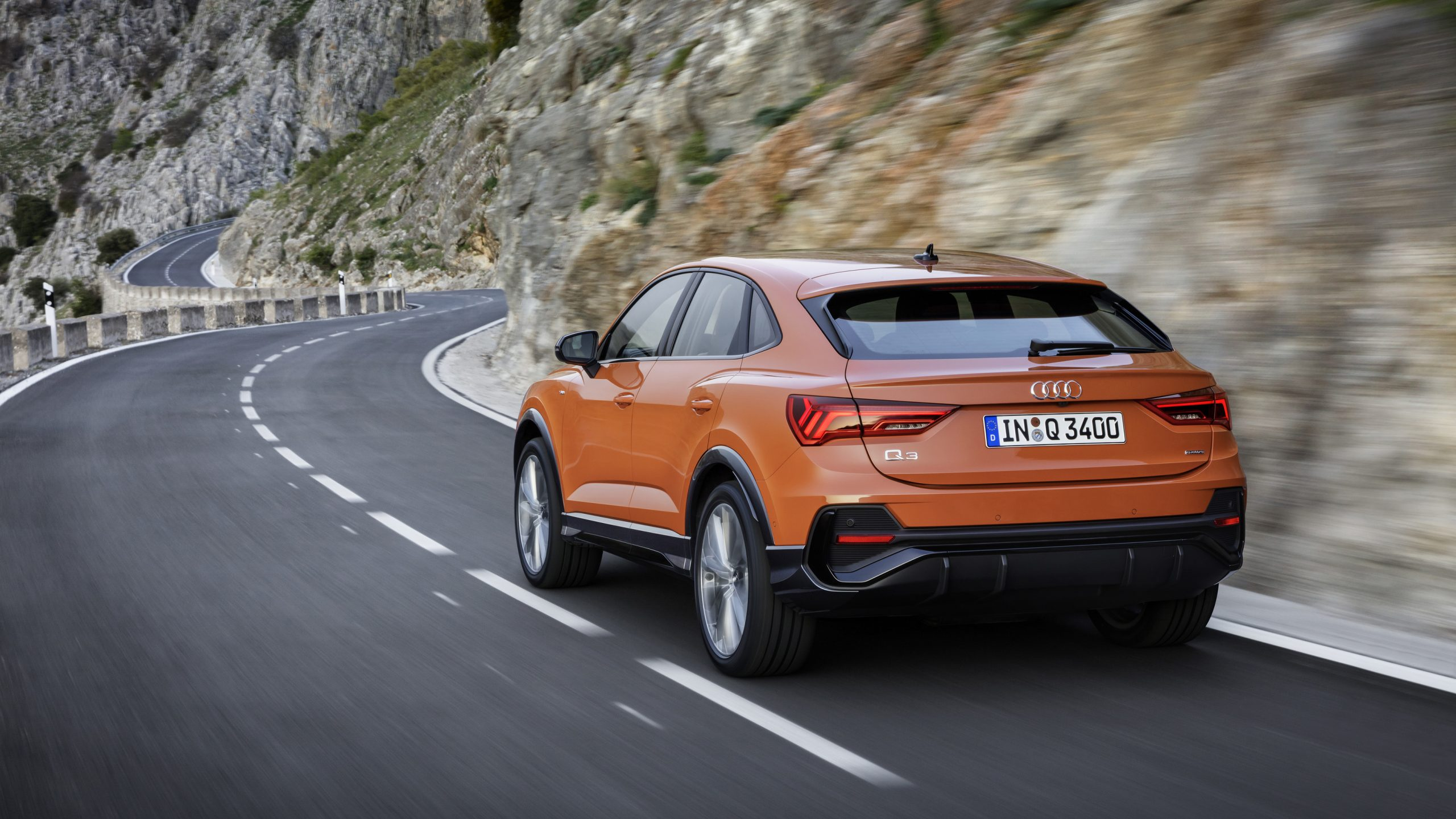 Audi Q3 one of the best SUV's available for under £300pcm