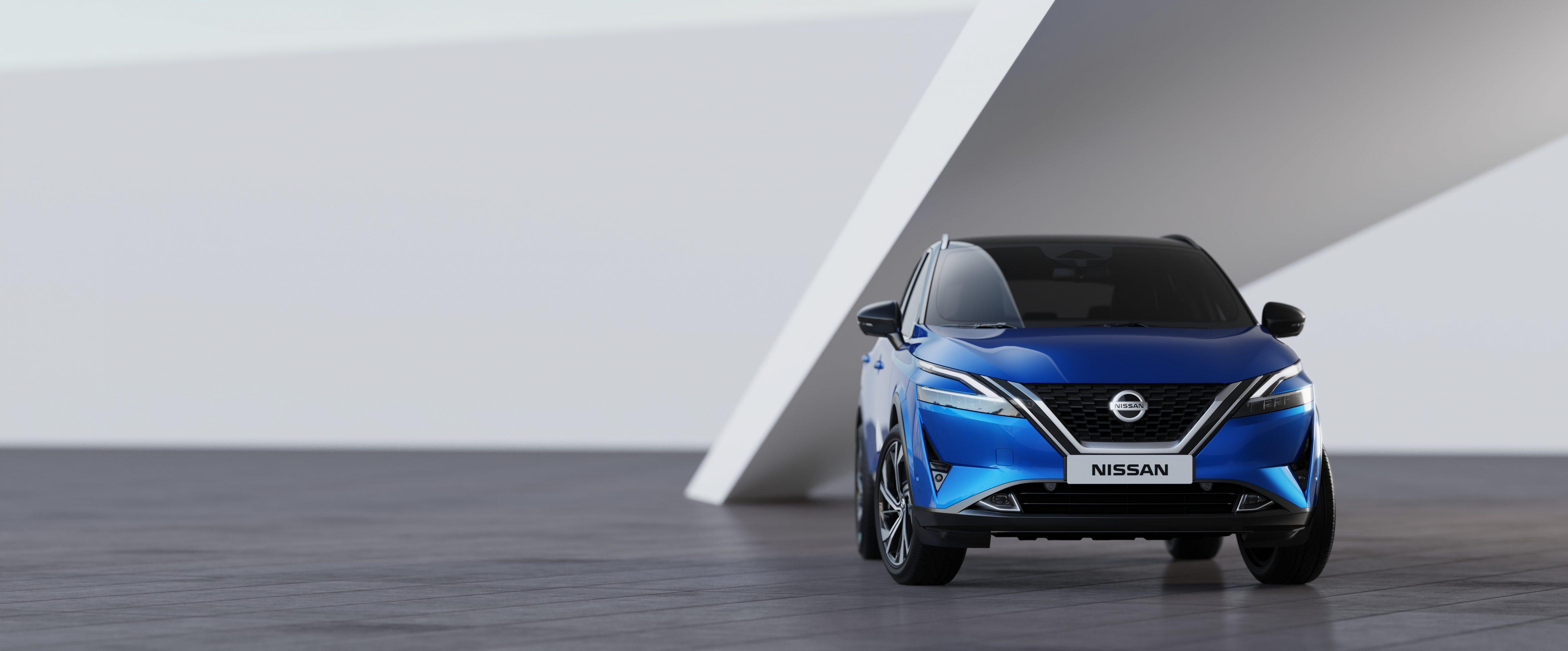 The new Nissan Qashqai has a slick new design that makes the range even sharper.