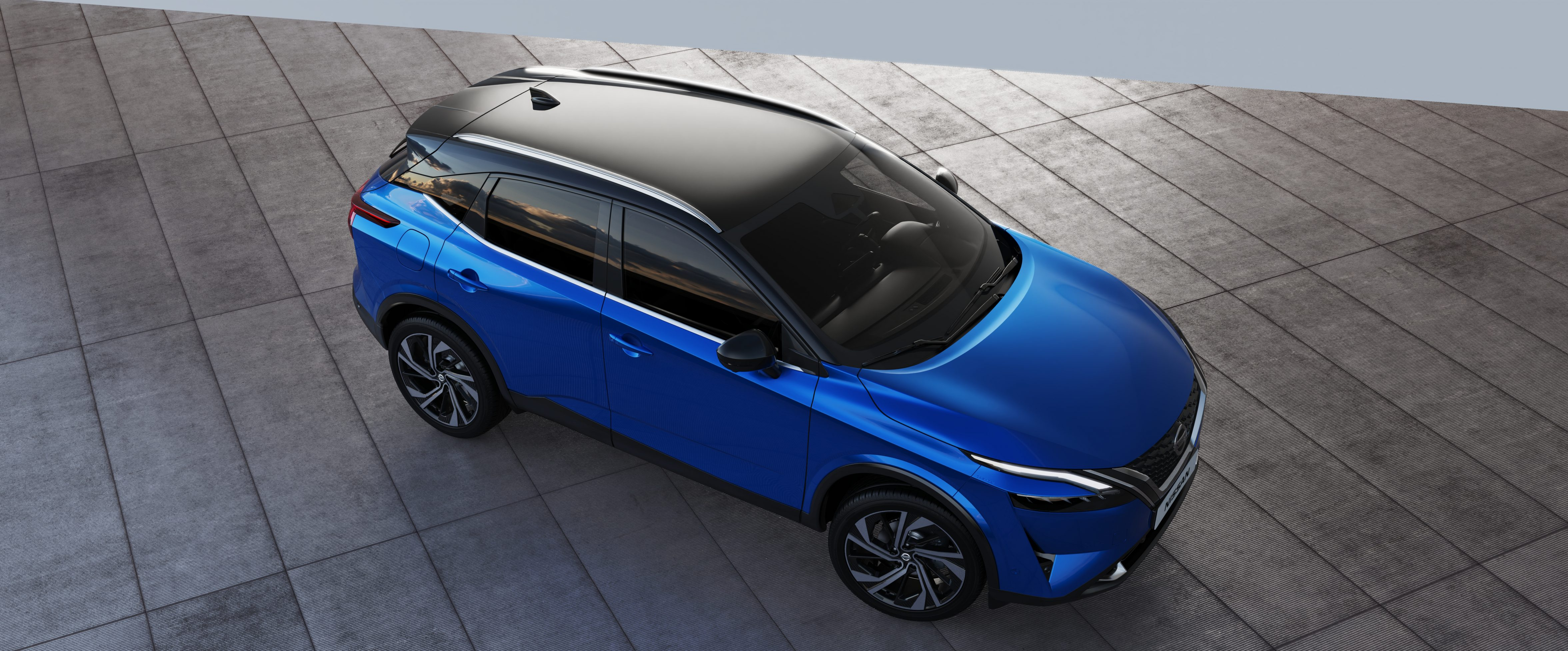 The new Nissan Qashqai is available in 16 different colour variations for optimum modification.