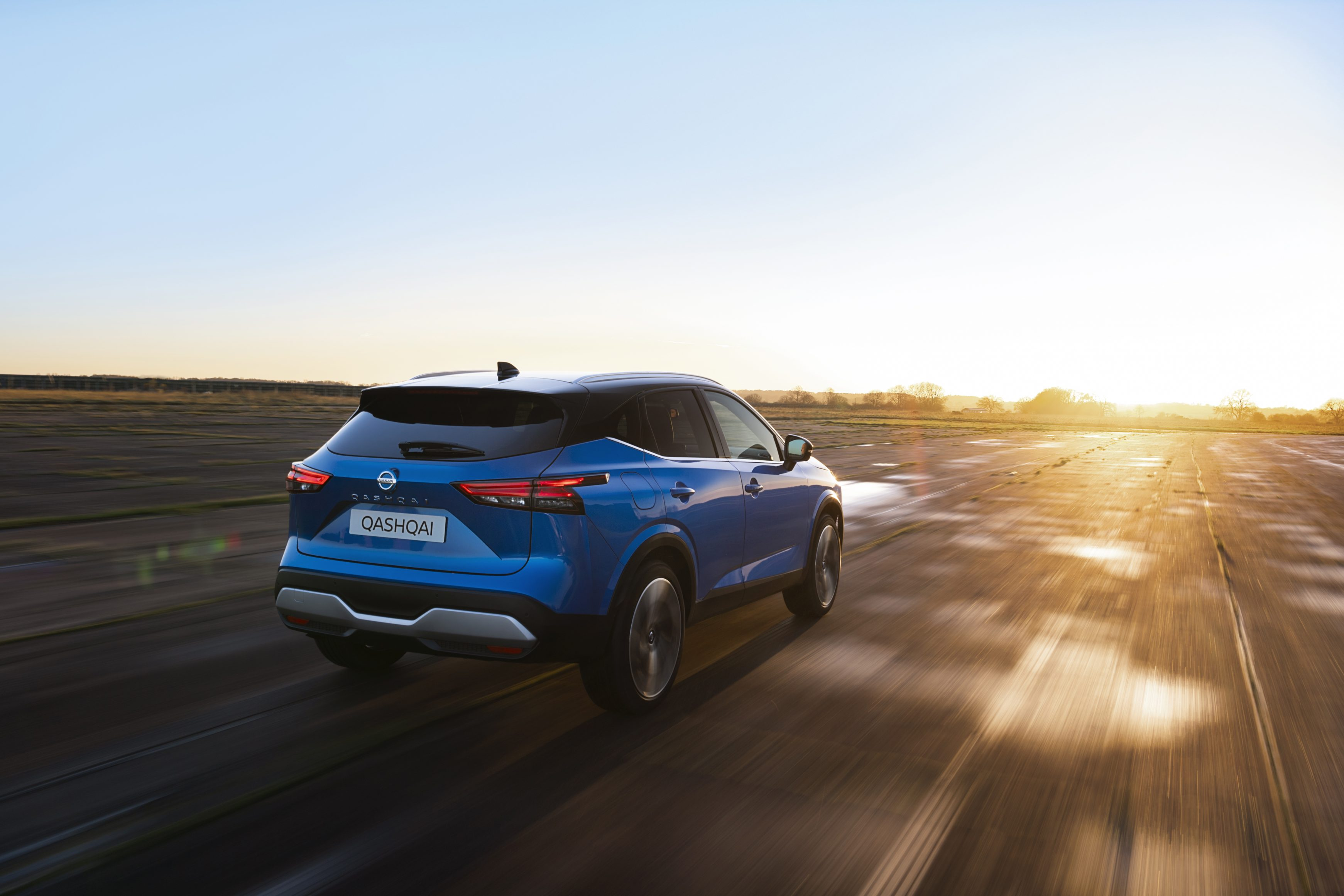 The new Nissan Qashqai comes with a mild hybrid engine that's punchy and fuel-efficient.
