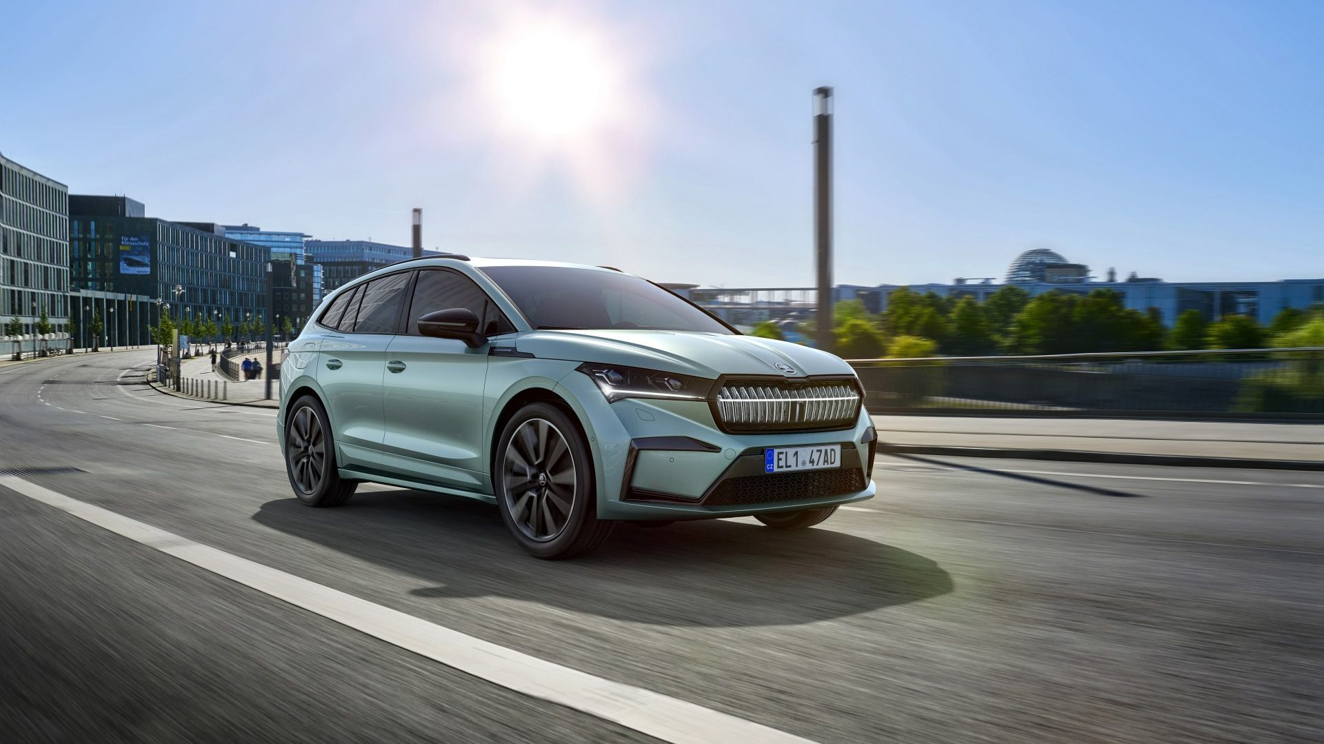 skoda enyaq available with plug-in grant