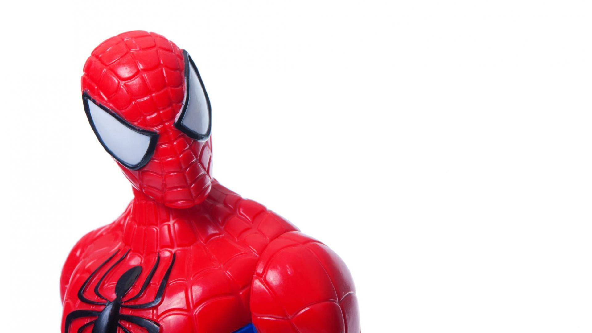 toy Spider-Man figure