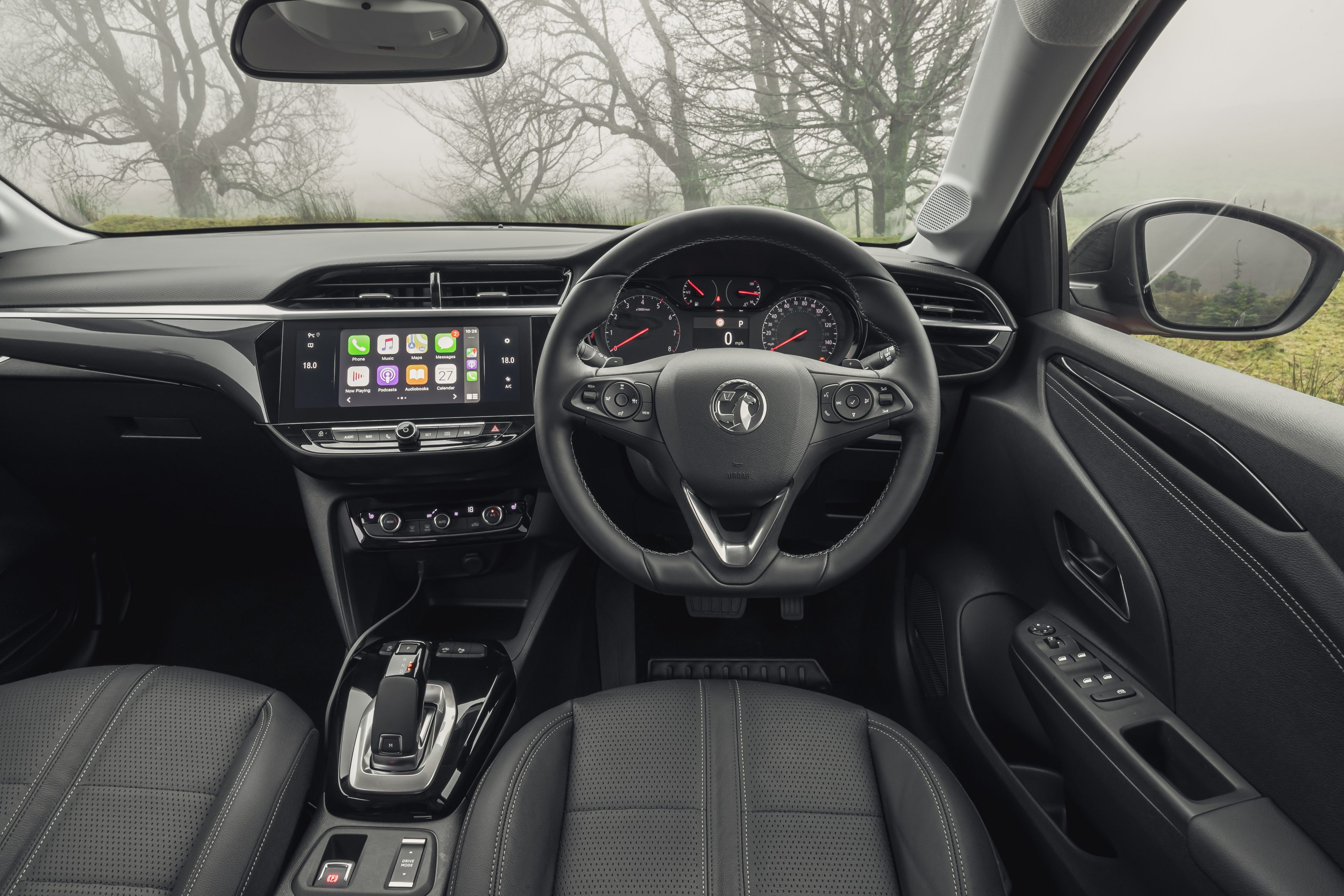 The 2021 Vauxhall Corsa interior is well put together and spacious, while higher trim levels come with leather upholstery