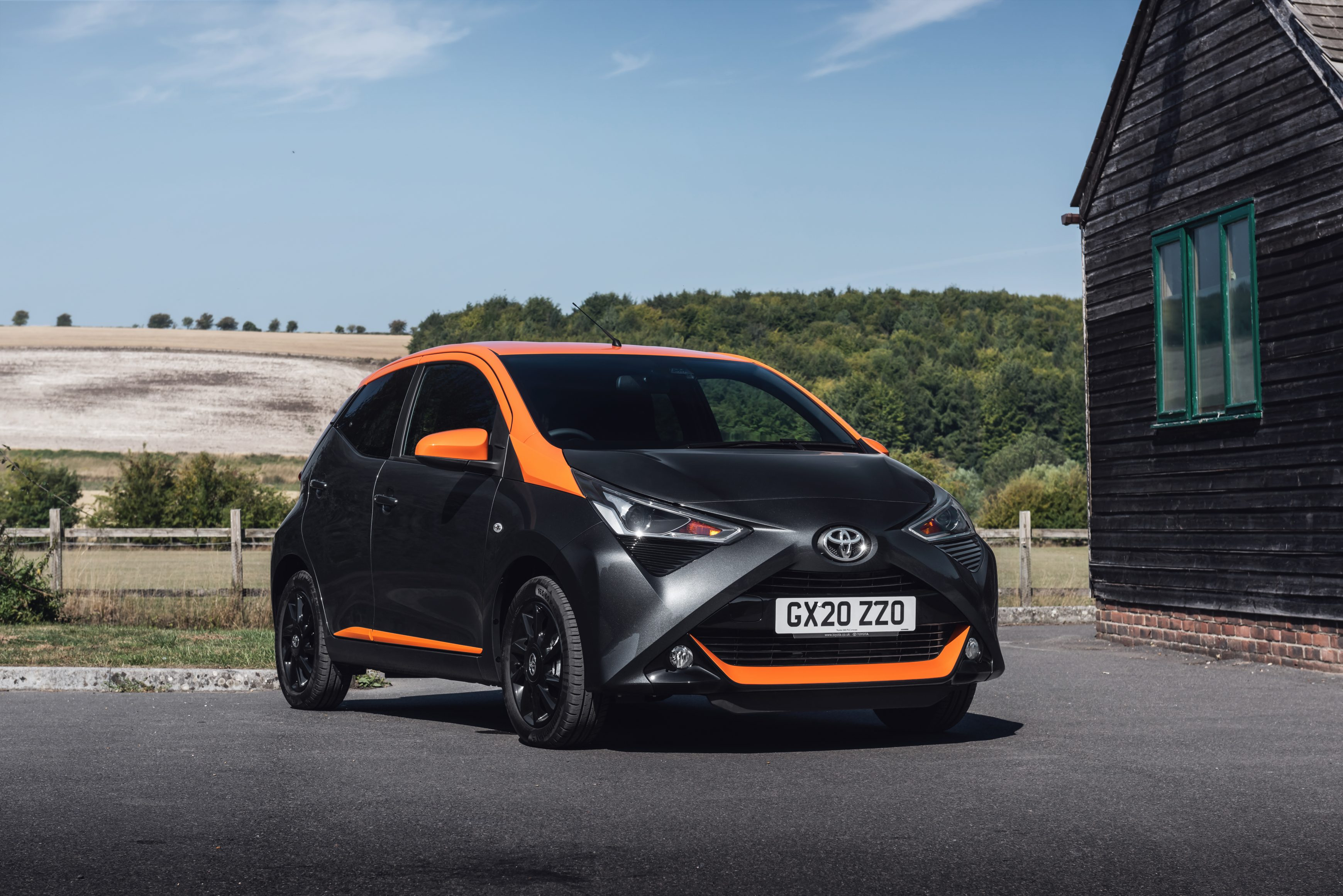 The Toyota Aygo JBL Edition is one of the flashiest models in the range