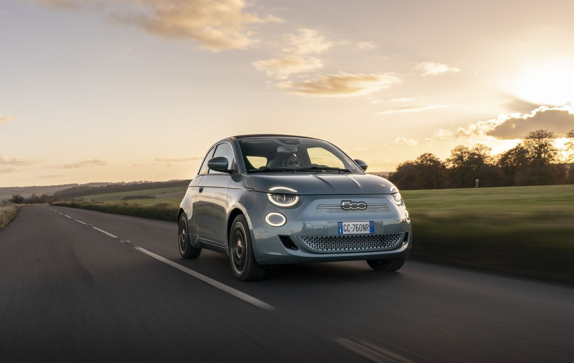 The Fiat 500 Electric is an award-winning EV with fond, iconic styling