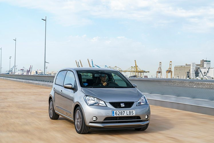 The Seat Mii electric is one of the best city cars because of its handy size, affordable running costs and eco-friendly drive