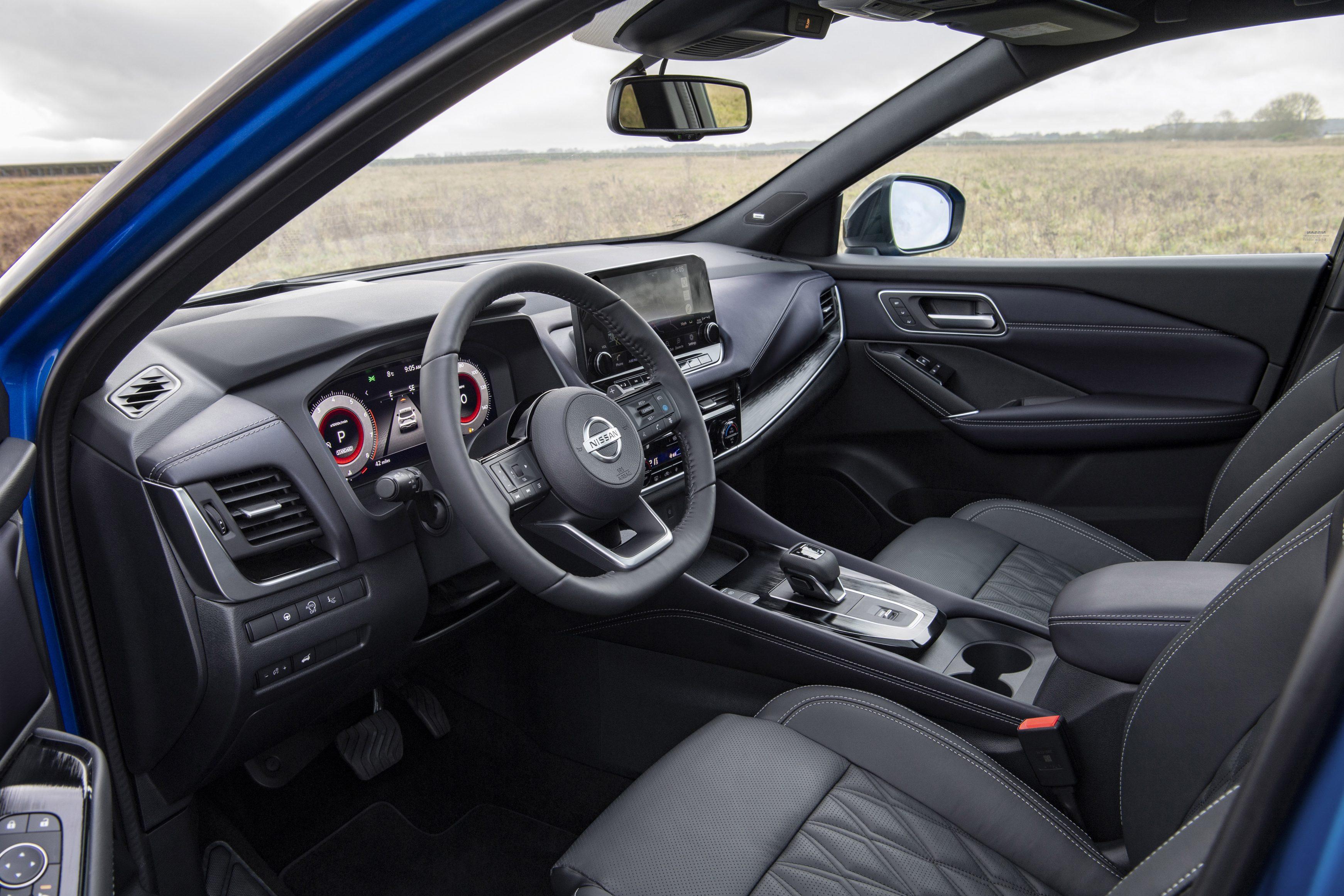 All-new 2021 Nissan Qashqai interior