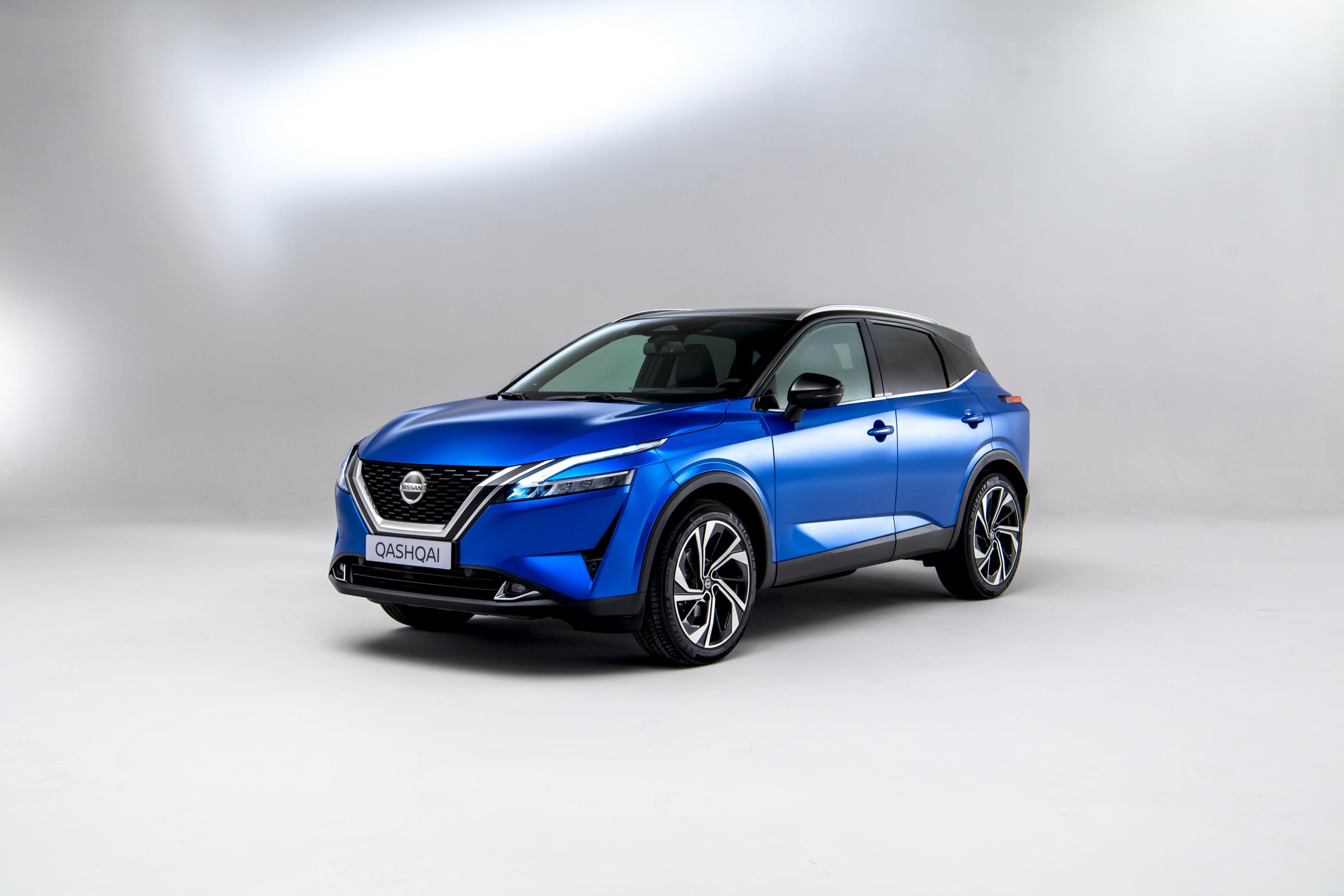 2021 Nissan Qashqai in blue