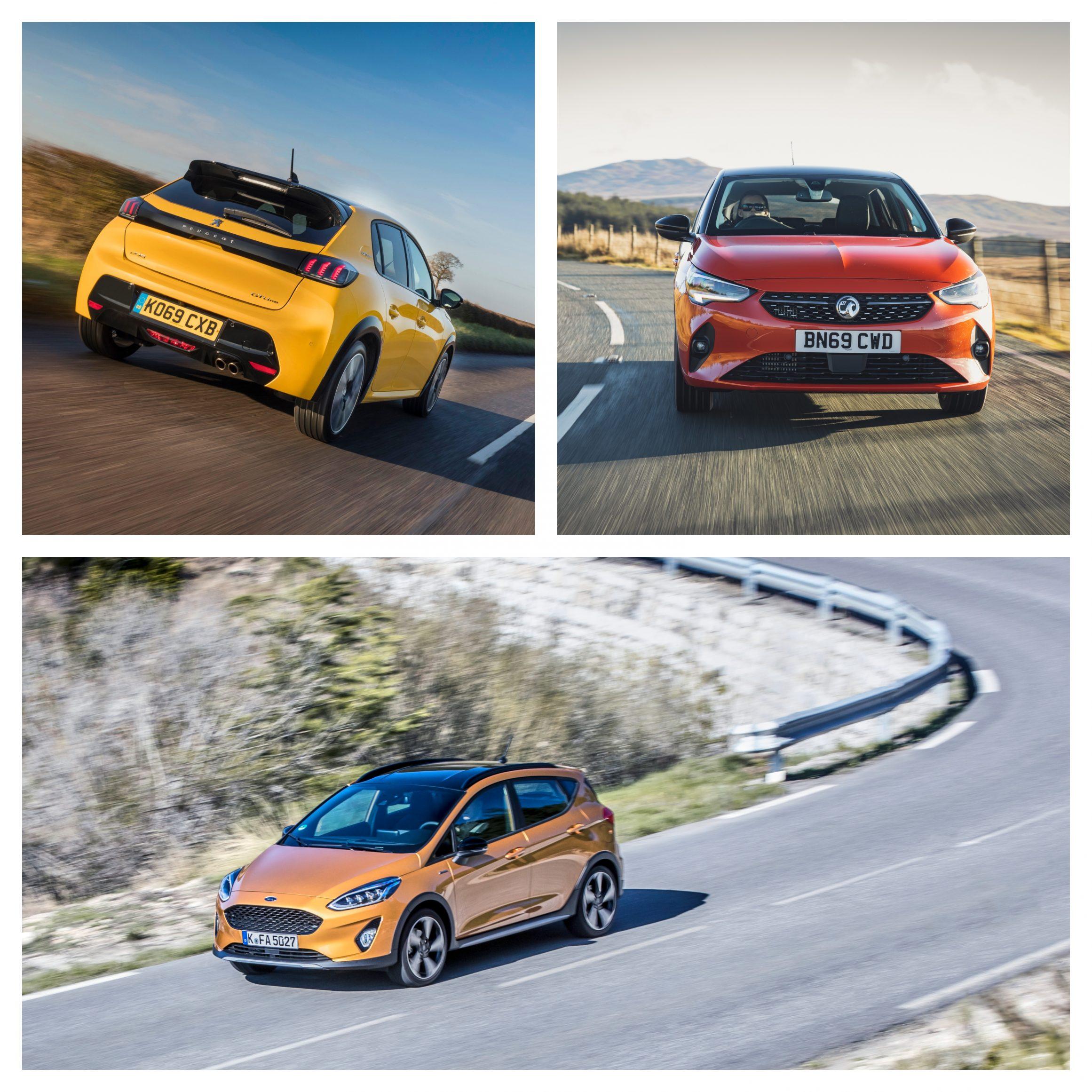 Corsa vs Fiesta vs Peugeot 208 how they drive